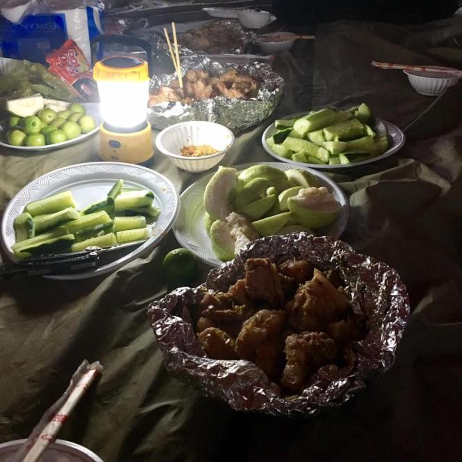 a feast waiting for us