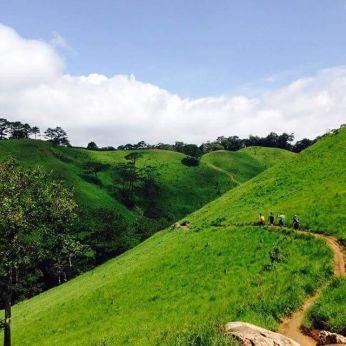 trekking route panorama